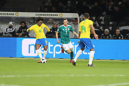 Willian (Brazil) and Julian Draxler (Germany) during the International Friendly Game football match between Germany and Brazil on march 27, 2018 at Olympic stadium in Berlin, Germany - Photo Laurent Lairys / ProSportsImages / DPPI