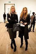 LINA ANDERSON; EVITA ABLOGINA, Gabriel Orozco reception, Tate Modern, London. 18 January 2010. .-DO NOT ARCHIVE-© Copyright Photograph by Dafydd Jones. 248 Clapham Rd. London SW9 0PZ. Tel 0207 820 0771. www.dafjones.com.