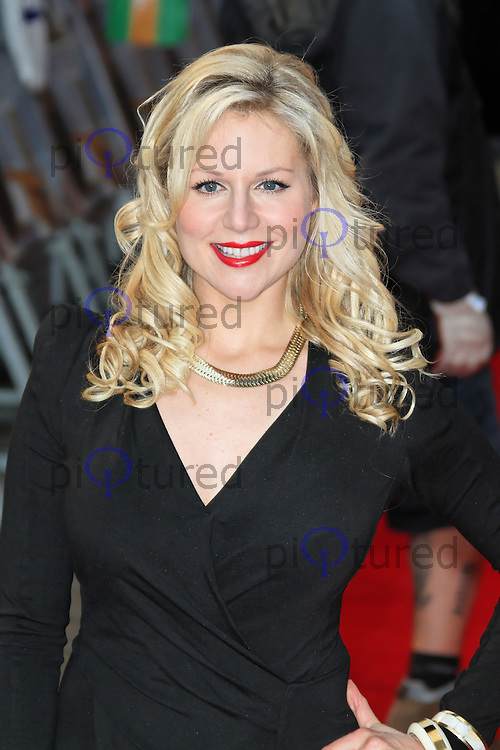 LONDON - MAY 10: Abi Titmuss attends the World Film Premiere of 'The Dictator' at the Royal Festival Hall, Southbank Centre, London, UK. May 10, 2012. (Photo by Richard Goldschmidt)