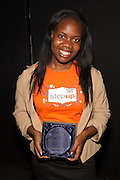 Step Up teen honoree Tamia Walker