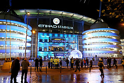 A general view of the Etihad Stadium - Mandatory by-line: Matt McNulty/JMP - 06/12/2016 - FOOTBALL - Etihad Stadium - Manchester, England - Manchester City v Celtic - UEFA Champions League Group C