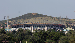 120410<br /> Royal Bafokeng Stadium where the England soccer team will be preparing for the Fifa 2010 world cup at Rustenburg .<br /> Picture: Ziphozonke Lushaba