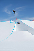 Mathilde Gremaud, Switzerland, Womens ski Slopestyle at the Pyeongchang Winter Olympics on 17th February 2018 at Phoenix Snow Park in South Korea