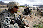 Embedded with the US Army, 3rd brigade combat team, 10th Mountain division in the highly volatile Logar province of Afghanistan in early May 2009...Photo: Guilad Kahn.