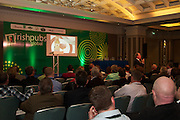 A stimulating Business Diary Date: 29th September to 1st October, Burlington Hotel Dublin – Irish Pubs Global Gathering Event.<br /><br />Pictured at the event- <br /> Dr. Pearse Lyons, Alltech<br /><br />•                     21 Countries represented<br />•                     Over 600 Irish Pub Enterprises from around the world<br />•                     The growth of Craft Beers<br />•                     Industry Experts<br />•                     Bord Bia – an export opportunity<br />•                     Transforming a Wet Pub into a Gastro Pub<br /><br />We love our Irish pubs but we of course have seen an indigineous decline resulting in closures nationwide in recent years.<br />Not such a picture worldwide where the Irish pub is a growing business success story.<br />Hence a global event and webcast in Dublin next week, called Irish Pubs Global Gathering Event  in the Burlington Hotel, Dublin, on September 29 to October 1st, backed by LVA and VFI.<br />Spurred on by The Irish Diaspora Global Forum in Dublin Castle 2 years ago, Irish entrepreneur Enda O Coineen has spearheaded www.irishpubsglobal.com into a global network with 20 chapters around the world and a database of over 4,000 REAL Irish pubs.<br />It promises to be a stimulating conference, with speakers bringing a worldwide perspective to the event. The Irish Pubs Global Gathering Event is a unique networking, learning and social gathering. A dynamic three-day programme bringing together Irish Pub owners & managers from all over the world and will focus on 'The Next Generation' of Irish pubs.<br /> <br />Key Note Speakers available for Interview<br />1.       Paul Mangiamele, CEO Bennigans<br />2.      Dr. Pearse Lyons, CEO ALLTECH<br />3.      Enda O Coineen, President of Irish Pubs Global<br />4.      Kingsley Aikins, CEO of Diaspora Matters<br /><br />Paul Mangiamele, CEO Bennigans<br />Paul M. Mangiamele is a veteran restaurant and retailing executive who joined Bennigan's Franchising Co. as Pre