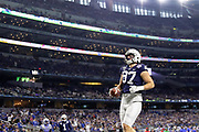 Penn State Nittany Lions tight end Pat Freiermuth (14) celebrates a 2 point conversion against the Memphis Tigers during the game of the NCAA Cotton Bowl Classic football game, Saturday, Dec. 28, 2019 at AT&T Stadium in Arlington, Texas. Penn State defeated Memphis 53-39. (Mario Terrana/Image of Sport)