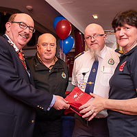 REPRO FREE<br /> Gerry O'Dwyer, CEO HSE Southwest Hospital Group; Adrian Collins and Donal Lonergan, National Ambulance Service and Kinsale CFR chairperson Colette Forde pictured at the official launch of Kinsale Community First Responders.<br /> Picture. John Allen