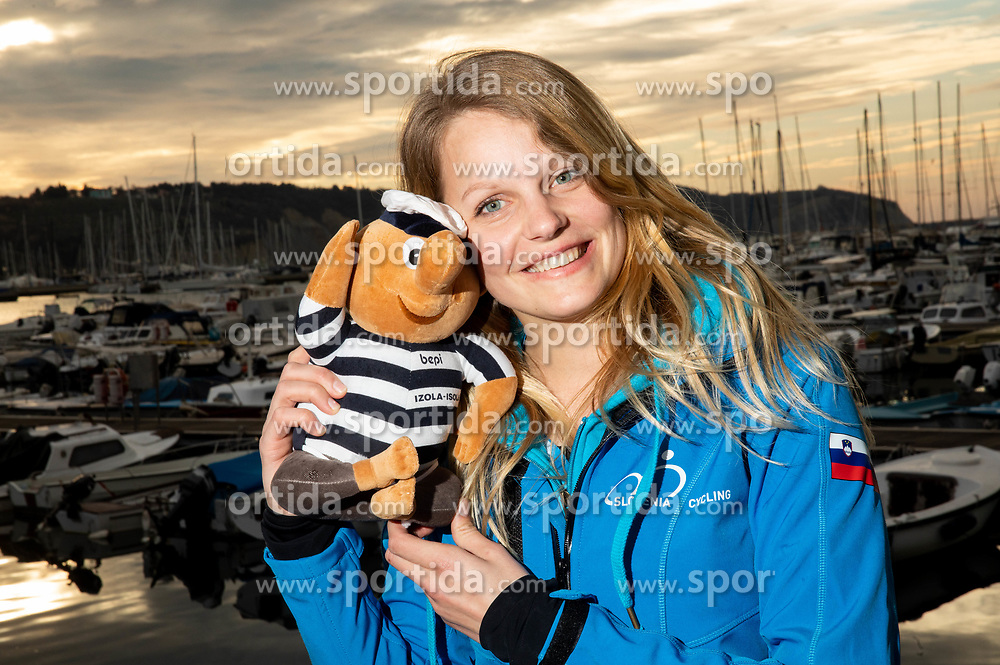 Petra Lusina posing during the cycling race 6. VN Slovenske Istre / 6th Slovenian Istra Grand Prix, on February 24, 2019 in Izola/ Isola, Slovenia. Photo by Vid Ponikvar / Sportida