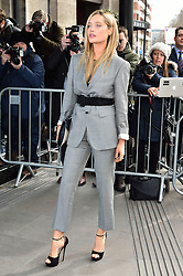 © Licensed to London News Pictures. 08/03/2016. LAURA WHITMORE arrives for the TRIC Awards. The Television and Radio Industries Club's annual awards ceremony, honour's the best performers and programmes  of the last year .London, UK. Photo credit: Ray Tang/LNP