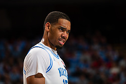 CHAPEL HILL, NC - FEBRUARY 25: Garrison Brooks #15 of the North Carolina Tar Heels plays during a game against the North Carolina State Wolfpack on February 25, 2020 at the Dean Smith Center in Chapel Hill, North Carolina. North Carolina won 79-85. (Photo by Peyton Williams/UNC/Getty Images) *** Local Caption *** Garrison Brooks