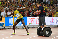 Usain Bolt (JAM) wins the Gold Medal in 100 Metres Men Final during the IAAF World Championships, Beijing 2015, at the National Stadium, in Beijing, China, Day 2, on August 23, 2015 - Photo Julien Crosnier / KMSP / DPPI