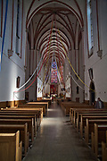 Wnętrze kościoła Św. Wojciecha we Wrocławiu