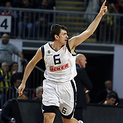 Fenerbahce Ulker's Mirsad TURKCAN during their Euroleague Basketball Top 16 Game 2 match Fenerbahce Ulker between Power Electronics Valencia at Sinan Erdem Arena in Istanbul, Turkey, Thursday, January 27, 2011. Photo by TURKPIX