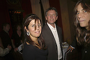 EDWARD MAPPLETHORPE AND ALISON JACQUES  Photos by Robert Mapplethorpe: Still Moving & Lady, Alison Jacques Gallery, 4 Clifford Street, London, W1, Dinner afterwards at the  The Dorchester with performance by Patti Smith, 7 September 2006.  ONE TIME USE ONLY - DO NOT ARCHIVE  © Copyright Photograph by Dafydd Jones 66 Stockwell Park Rd. London SW9 0DA Tel 020 7733 0108 www.dafjones.com