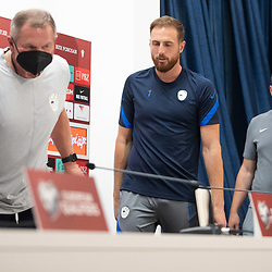 20210906: CRO, Football - Press conference and Practice session of Slovenia national team