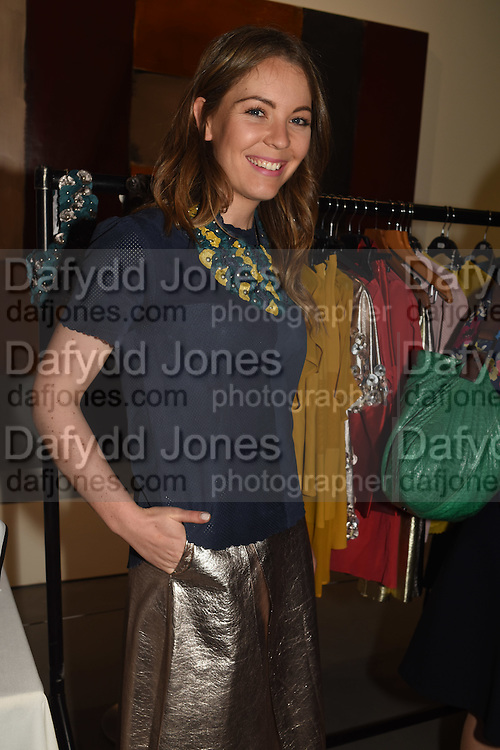EMMA MANLEY, The Arthur Cox Irish Fashion Showcase 2015,  Irish based designers chosen to be part of this year's Arthur Cox Irish Fashion Showcases The Mall Galleries, London. 13 May 2015.