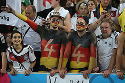 13.07.2014, Maracana, Rio de Janeiro, BRA, FIFA WM, Deutschland vs Argentinien, Finale, im Bild Deutsche Fans // during Final match between Germany and Argentina of the FIFA Worldcup Brazil 2014 at the Maracana in Rio de Janeiro, Brazil on 2014/07/13. EXPA Pictures © 2014, PhotoCredit: EXPA/ Eibner-Pressefoto/ Cezaro<br /> <br /> *****ATTENTION - OUT of GER*****