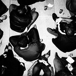 Soiree de poche #5 organisee par la Blogotheque..Avec Herman Dune + guests...Saint-Ouen. Jeudi 25 septembre 2008..photo : Antoine Doyen