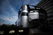 May 25-29, 2016: Monaco Grand Prix. Mclaren motorhome