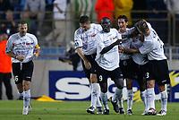 Fotball<br /> Frankrike 2004/05<br /> Strasbourg v Istres<br /> 28. august 2004<br /> Foto: Digitalsport<br /> NORWAY ONLY<br /> AFTER THE MOUSSA N'DIAYE'S GOAL