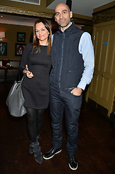 Left to right, STRATIS & MARIA HATZISTEFANIS at a party to launch Madderson London Women's Wear held at Beaufort House, 354 Kings Road, London on 23rd January 2014.