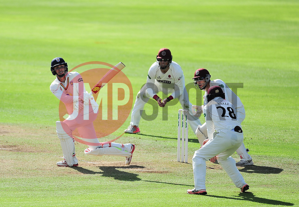 Paul Coughlin of Durham in action.  - Mandatory by-line: Alex Davidson/JMP - 04/08/2016 - CRICKET - The Cooper Associates County Ground - Taunton, United Kingdom - Somerset v Durham - County Championship