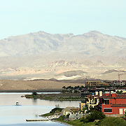 LAS VEGAS, NV, NOVEMBER 14, 2006:  The Ritz Carlton at Lake Las Vegas in Henderson, Nevada, is about 17 miles from the Strip and offers waterfront homes.  (Photograph by Todd Bigelow/Aurora)....