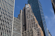 New York Building on Brodway in Times square area