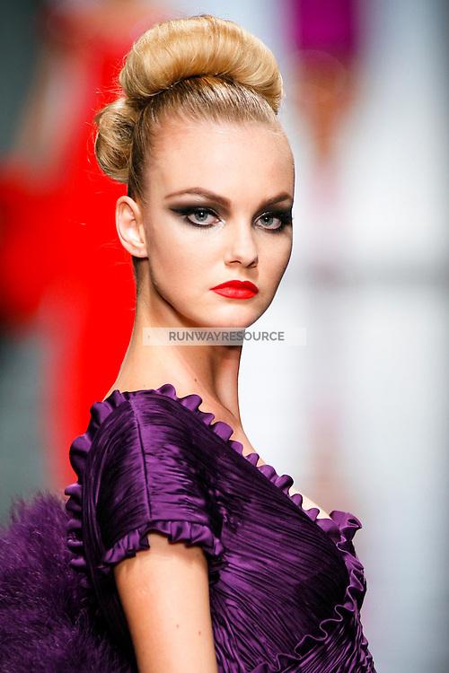Caroline Trentini wearing Valentino - Fall 2007 Couture