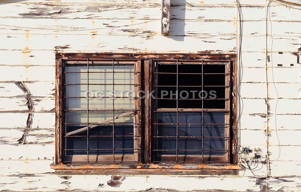 Weathered Building and Window
