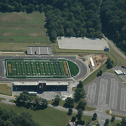 Aerial view of West Chester University