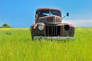 Old truck<br /> Robstart<br /> Saskatchewan<br /> Canada