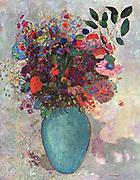 Bertrand-Jean Redon, better known as Odilon Redon (April 20, 1840 – July 6, 1916) French Symbolist painter 'The Turkish Vase' 1911