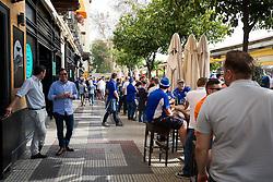 Leicester City fans take over O'Neils Irish bar in Seville before the game - Rogan Thomson/JMP - 22/02/2017 - FOOTBALL - Estadio Ramon Sanchez Pizjuan - Seville, Spain - Sevilla FC v Leicester City - UEFA Champions League Round of 16, 1st Leg.
