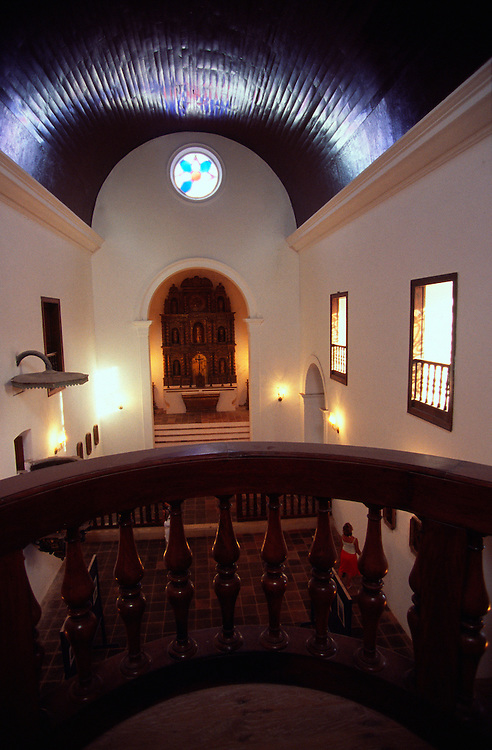 View of Saint Paul Palace Museum interior from the choir balcony