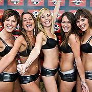 NLD/Amsterdam/20080518 - Opname strafschoppen EK Lingerie, team uit Belgie