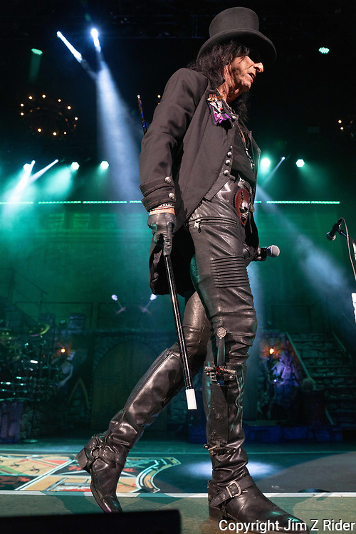 After nearly 19 months off stage, Rock and Roll legend ALICE COOPER, 73, launches his fall 2021 tour at Ocean Casino Resort in Atlantic City, New Jersey.