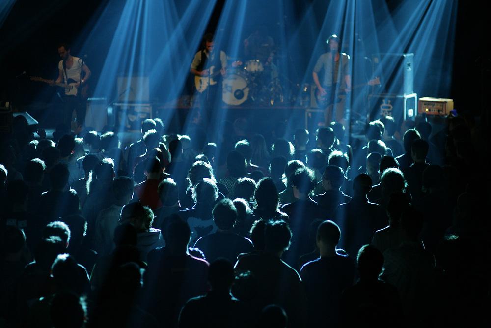 Performance of Dutch rock band Alamo Race Track during the Noorderslag festival in Groningen // Alamo Race Track op Noorderslag.