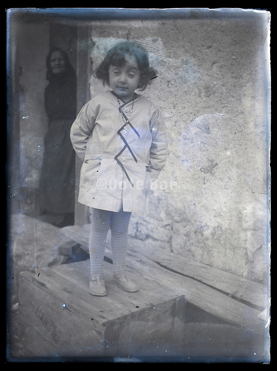 young girl portrait France ca 1920s