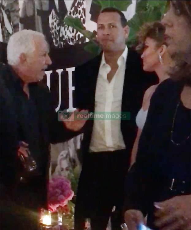 EXCLUSIVE: ** NO USA TV AND NO USA WEB ** Jennifer Lopez was forced into an extremely awkward position Wednesday night ... having to schmooze with Guess co-founder Paul Marciano just hours after he was accused of sexually abusing models. J Lo, along with Alex Rodriguez, chatted up Marciano at Guess HQ in downtown L.A. -- she was the guest of honor at the launch party for her new Guess campaign. The timing couldn't have been worse. Kate Upton had just made the allegation that Marciano has been abusing models. Wednesday's event had been planned for weeks, and our Guess sources say Kate was invited ... so she clearly knew her bombshell would land right in the middle of Marciano's big night. Interesting that J Lo wasn't swayed by Kate's claim -- and also that Marciano still showed up and addressed his guests. We're told he made no mention of the allegations. 01 Feb 2018 Pictured: J Lo, Alex Rodriguez, Paul Marciano. Photo credit: TMZ/MEGA TheMegaAgency.com +1 888 505 6342