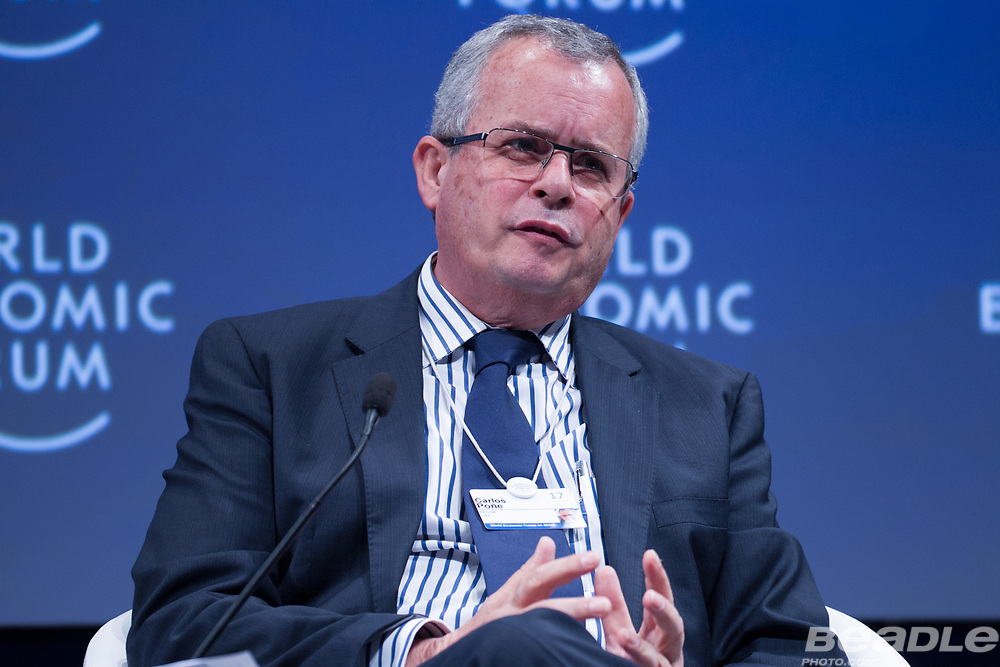 Carlos Poñe, Chief Executive Officer, Africa<br /> AECOM at the World Economic Forum on Africa 2017 in Durban, South Africa. Copyright by World Economic Forum / Greg Beadle