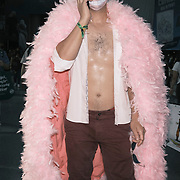 A man in costume at the 2021 New York Comic Con at the Javits Center in Manhattan, New York on Thursday, October 7, 2021. John Taggart for The New York Times
