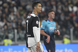 May 19, 2019 - Turin, Piedmont, Italy - Cristiano Ronaldo (Juventus FC) during the Serie A football match between Juventus FC and Atalanta BC at Allianz Stadium on May 19, 2019 in Turin, Italy. (Credit Image: © Massimiliano Ferraro/NurPhoto via ZUMA Press)