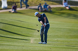 March 21, 2018 - Austin, TX, U.S. - AUSTIN, TX - MARCH 21: Jon Rahm hits a shot during the First Round of the WGC-Dell Technologies Match Play on March 21, 2018 at Austin Country Club in Austin, TX. (Photo by Daniel Dunn/Icon Sportswire) (Credit Image: © Daniel Dunn/Icon SMI via ZUMA Press)