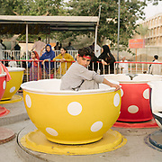 The old Karachi zoo.