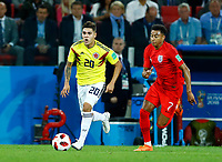 Juan Quintero (Colombia) and Jesse Lingard (England)<br /> Moscow 03-07-2018 Football FIFA World Cup Russia 2018 <br /> Colombia - England / Colombia - Inghilterra<br /> Foto Matteo Ciambelli/Insidefoto