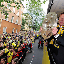 20110514: GER, Borussia Dortmund Champions celebration