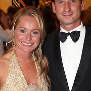 NLD/Utrecht/20070928 - Premiere film Goud over Nederlands dames hockeyelftal, Minke Booij en partner Derek Marijnen
