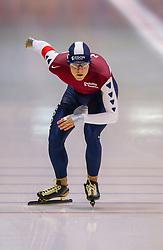 5-01-2003 NED: Europees Kampioenschappen Allround, Heerenveen<br /> 10000 m / Mark Tuitert