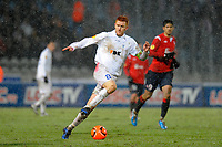 FOOTBALL - UEFA EUROPA LEAGUE 2010/2011 - GROUP STAGE - GROUP C - LILLE OSC v KAA GENT - 16/12/2010 - PHOTO JEAN MARIE HERVIO / DPPI - BERND THIJS (GENT)